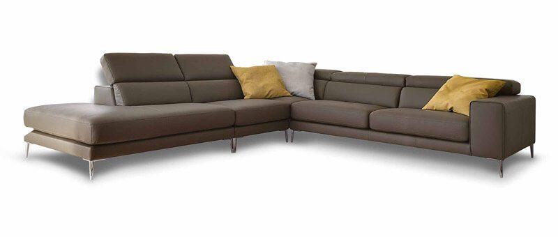 Divani in pelle e divani in tessuto di design - Ditre Italia