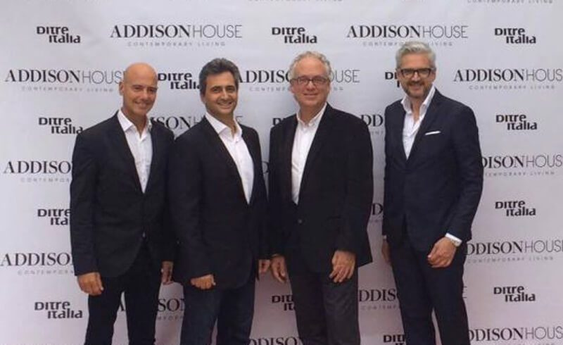 Ditre Italia protagonist at Miami Addison House's inauguration in the prestigious Miami Design District.