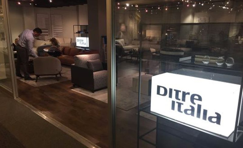 Ditre Italia for the first time at High Point Market – 14/18h October