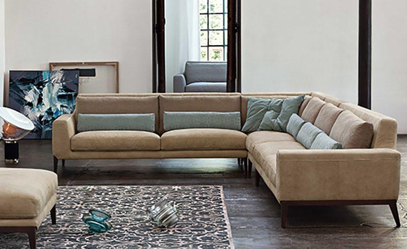 Booman, Miller, Morrison: i nuovi divani design e pelle di Ditre Italia
