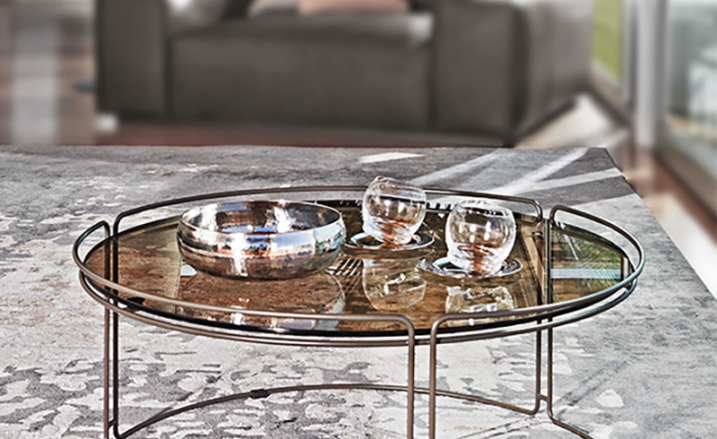 La linea Monolith: tavolini per il living collezione 2015