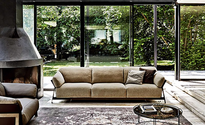 Complementary Furnitures per un Living Room Minimal Urban