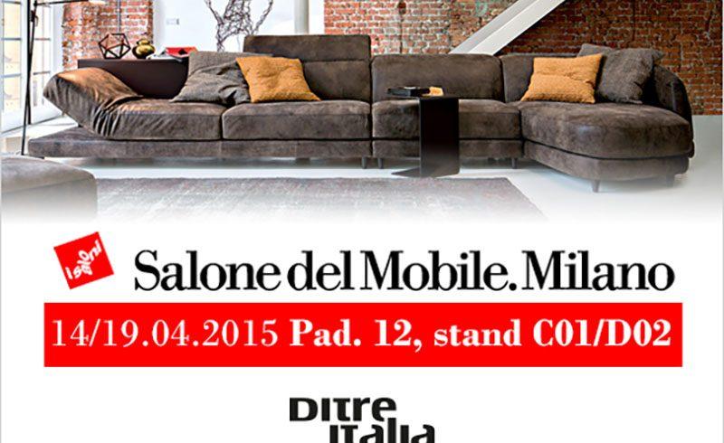 Scopri i Divani Ditre Italia al Salone del Mobile di Milano 2015!