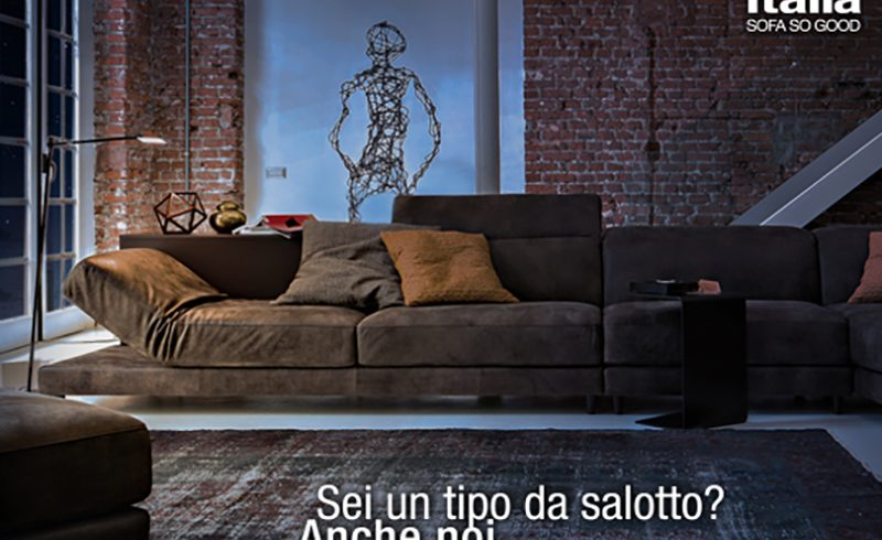 Sei un Tipo da Salotto? Scopri quanto è bello il Natale con i Divani Ditre Italia!