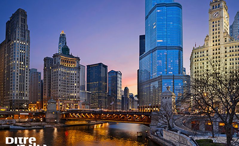 Ditre Italia, divani on the road.. in Chicago!