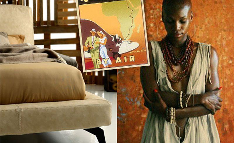 Ditre Italia, un letto in Africa