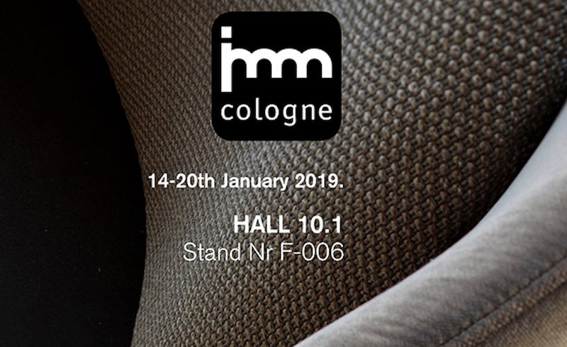 Ditre Italia new releses for home and contract for the first time at IMM Cologne 2019