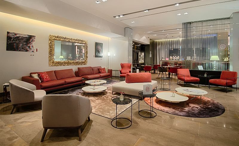 NH President in Milano chooses Ditre Italia for the hall restyling
