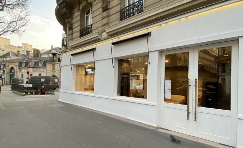 DITRE ITALIA OPENS A NEW FLAGSHIP STORE IN PARIS IN THE CENTRAL BOULEVARD ST.GERMAIN
