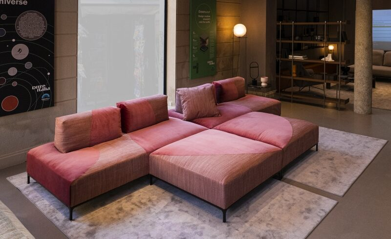 DITRE ITALIA LAUNCHES SANDERS UNIVERSE – THE FIRST ECO-FRIENDLY SOFA